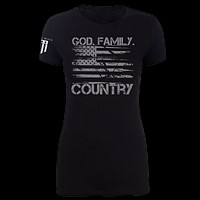 God. Family. Country. Women