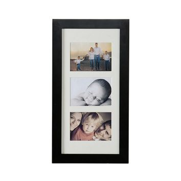 Gleaming Piece of Photo Display Wall-Mount Black Jewelry Armoire