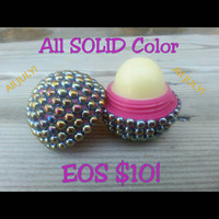 July Special! Solid Color Bling EOS Lip Balm
