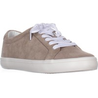 FRYE Kerry Low Lace-Up Fashion Sneakers, Ash, 11 US