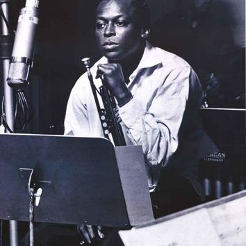 Miles Davis Kind of Blue Sessions Poster 24x36
