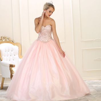 Long Quinceanera Ball Gown Sweet 16