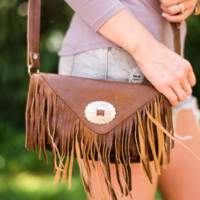 Western Fringed Purse
