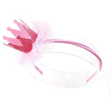 Flower Crown Hairbands Girls Hair Accessories Lace Princess Hair Decoration Accessoires Cheveux#121