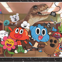 Amazing World of Gumball Cartoon Poster 22x34