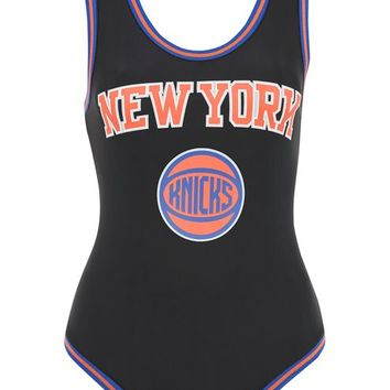 New York knicks body by UNK X Topshop