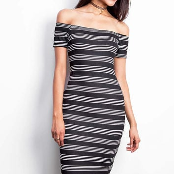 Line Stepper Dress