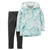 2-Piece Fleece Pullover & Legging Set
