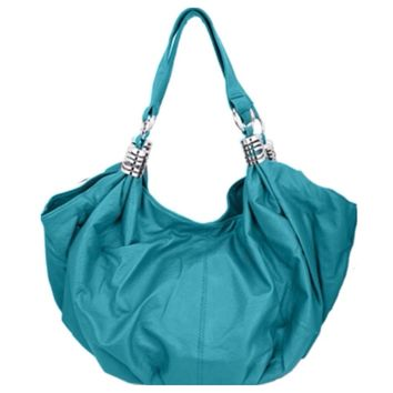 "Beautiful Turquoise ""Must Have"" Shoulder Bag, Purse"