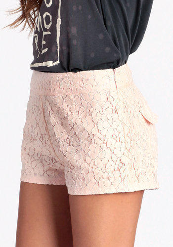 Love And Lace Shorts - $39.00: ThreadSence, Women's Indie & Bohemian Clothing, Dresses, & Accessories