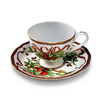 Tiffany & Co. - Tiffany Holiday™:Cup and Saucer