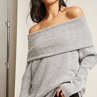 Free Generation Off-the-Shoulder Top