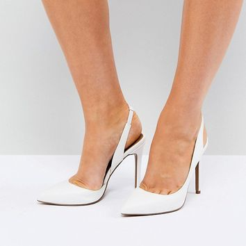 ASOS PREFECT Slingback Pointed Heels at asos.com