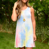 Rainbow Sherbet Mini Dress