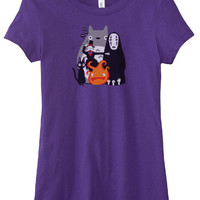 Totoro Howl's Moving Castle Spirited Away T-Shirt
