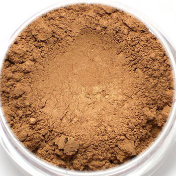 "Vegan Blush - ""Amber Moth"" rich tawny amber with a golden sheen Net wt 4.5g"