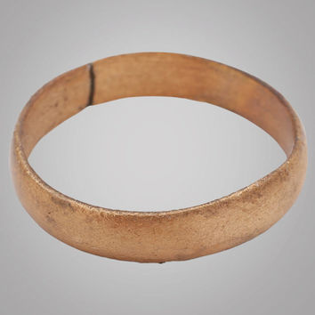 Authentic Ancient Viking Wedding Band Jewelry C.866-1067A.D. Size 11 3/4  (20.7mm)(Brr723) Vikking Ring