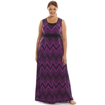 Tek Gear Racerback Maxi Fitness Dress - Women's Plus Size, Size: