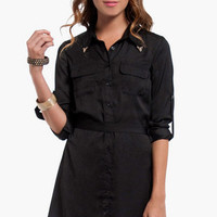 Business First Shirt Dress $60