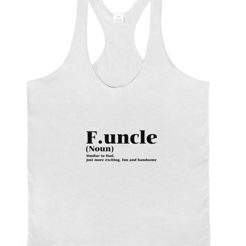 Funcle - Fun Uncle Mens String Tank Top by TooLoud