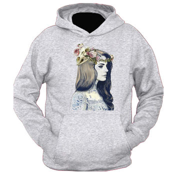 Lana Del Rey Tatto hoodie for womens and mens heppy feed