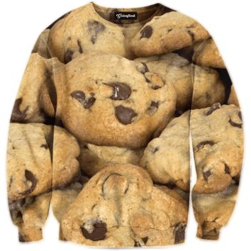 Chocolate Chip Cookie Crewneck