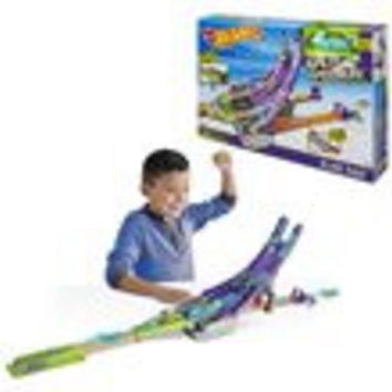 Hot Wheels Split Speeders Blade Raid Track Set