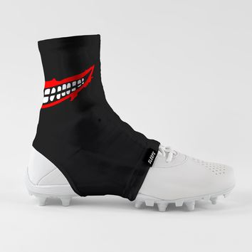 Smile Black Spats / Cleat Covers