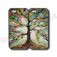 iphone 6 case,iphone 6 plus case,iphone 5s case,samsung galaxy s5,galaxy S4,S3,galaxy S3 mini,S4 mini,S5 mini,S4 active,S5 active--love tree,Best friends,price for 2pcs in one set