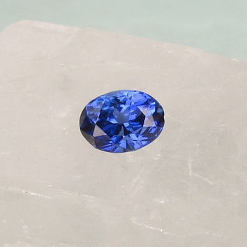 Kashmir Blue Color Sapphire Oval Shape for Fine Gemstone Jewelry Ring or Engagement Ring September Birthstone Loose Gemstone