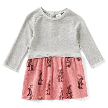 Egg by Susan Lazar Baby/Little Girls 12 Months-4T Maya Rabbit-Print Dress | Dillards