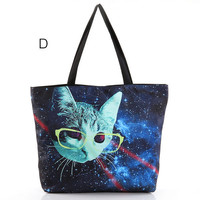 Cosmos Print Tote Bag TY523