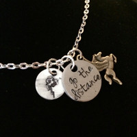"Hercules Inspired ""Go The Distance"" Necklace"