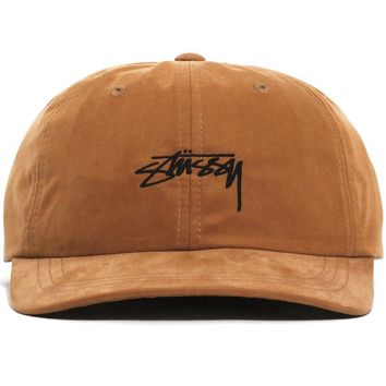 Peached Smooth Stock Low Pro Cap Camel