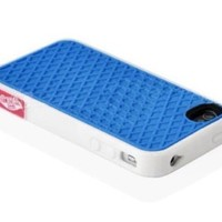 Iphone 5 Vans blue white Silicone Waffle Shoe Case Cover for Apple iPhone 5 5s Vans Style