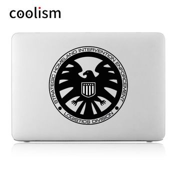 "Agents of Shield Vinyl Laptop Sticker for Apple MacBook Decal 11"" 12"" 13"" 15 Air Pro Retina Mac Cover Skin Book Notebook Sticker"
