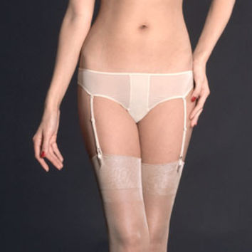 Maison Close: Exquise Allure Panty with Detachable Garters