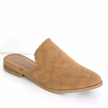 Women's Slip-On Mules with Braided Details