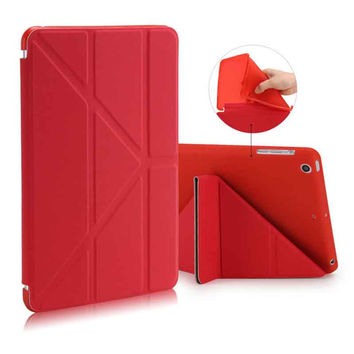 For Apple Ipad Air 1 2 Case Pu+Tpu Cover Smart Wake Up Sleep 9.7 inch For Ipad 5 6 Soft Full Protect With Free Stylus Pen