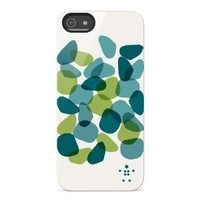 Belkin Shield Petals Case / Cover for iPhone 5 and 5S (Green / Blue)