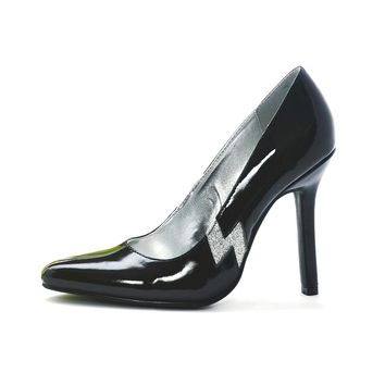 Women's 4 Inch Heel Pumps (7,Black)