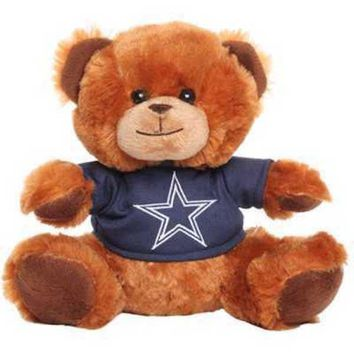 NFL Dallas Cowboys Jersey Seated Shirt Teddy Bear
