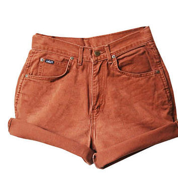 SALE - Golden High Waisted Shorts
