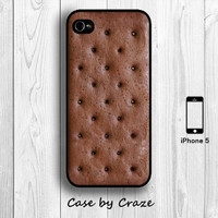 Ice Cream Sandwich iPhone 5 / 5S Hard Case Creative Food iPhone 5 Back Cover -10