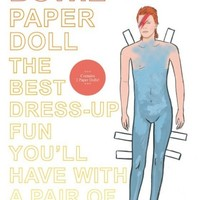 David Bowie Paper Doll Book from MAIDEN | Made By | £7.50 | BOUF