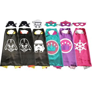 Star Wars Costumes Darth Crown Party Cosplay for Kids Dress Up