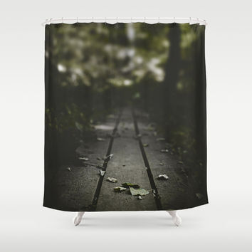 Doubts Shower Curtain by HappyMelvin