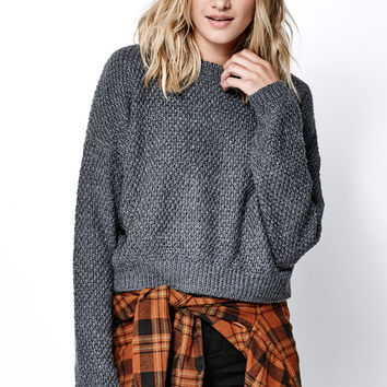 OBEY Bianca Cropped Pullover Sweater at PacSun.com