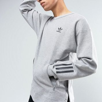 adidas Originals Paris Pack Instinct Crew Neck Sweatshirt In Grey BK0515 at asos.com