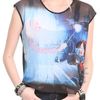 Disney Pinocchio Blue Fairy Top | Hot Topic